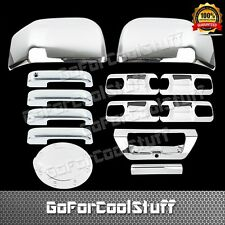 2015 FORD F-150 4DRS W//O PSKH+BASE PLATE+MIRROR+TAILGATE ABS CHROME COVERS