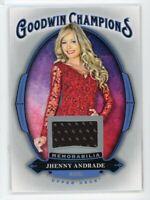 2020 Jhenny Andrade Jersey Upper Deck Goodwin Champions Memorabilia RELIC