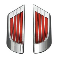 1959-61 Chevy Impala Door Arm Rest Reflectors, pair