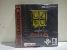 THE LEGEND OF ZELDA NES CLASSICS + GAME BOY ADVANCE 3+ NUOVO E SIGILLATO