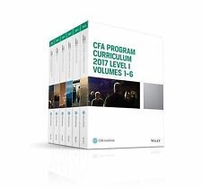 CFA Program Curriculum 2017 Level I, Volumes 1 - 6 (CFA Curriculum 2017)
