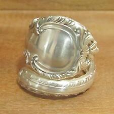 Spoon Ring, Gorham English Gadroon Sterling Silver 15.5 grams, Size 9, #194
