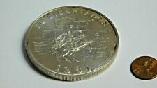 Panama 1981 20 Balboa HUGE coin 66mm with eror on coin. 4oz +- STERLING