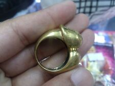 Thammarong Ring Yoni Lingam Magic Charm Luck Love Sorcery Thai Amulet Occult