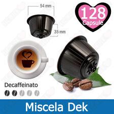 128 Capsule Cialde Caffe Decaffeinato Compatibili NESCAFE DOLCE GUSTO Miscel Dek