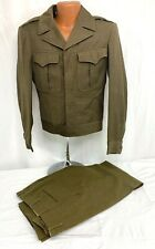 WWII US Army Enlisted Soldiers Tunic & Pants