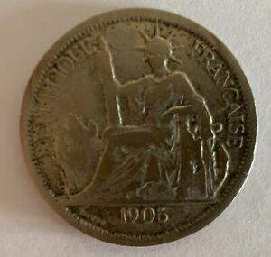 FAUSSE PIECE PIASTRE DE COMMERCE 1905