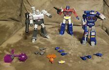 Transformers - R.E.D. - Wave 1 - Optimus Prime Megatron Sowndwave - Hasbro Lot