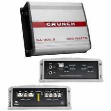 Crunch SA11002 Smash Amplifier 2 Channel 1100 Watts