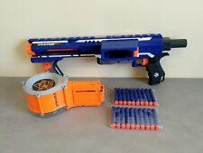 Pistolet Fusil NERF N-STRIKE RAMPAGE avec Chargeur 25 coups + FLECHETTES NEUVE