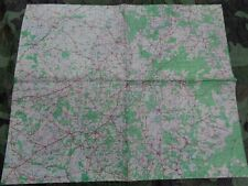 WW2 (1944) British Military Map of SOLTAU (Germany)