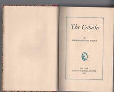 The cabala by thornton niven wilder author signed albert & charles boni 1926 hc