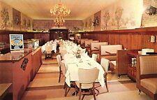 Blue Manor Restaurant Interior in Warren Pa Old