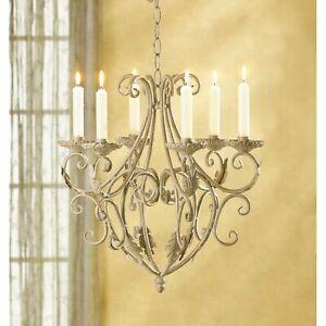 Iron Royal Classic Elegant Candleholder Chandelier Home Décor