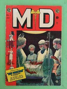 M.D #1 EC Comics Johnny Craig Cover 1955