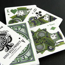 Tally Ho Emerald Deck - White Edition - Playing Cards - Magic Tricks - New
