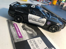Transformers 2007 Movie Deluxe Class Decepticon Barricade. With Instructions