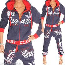 Damen Jogginganzug Jogging Jacke Hose Sportanzug Fitness Regatta-Club S-XXL