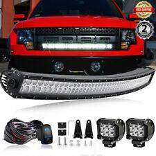 """Fit 2009-2014 Ford F150/SVT Raptor Grille Mount 40"""" 42INCH LED Light Bar Combo"""