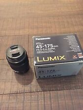 Panasonic LUMIX G X Vario 45-175mm f/4.0-5.6 Aspherical PZ Power O.I.S. Lens...