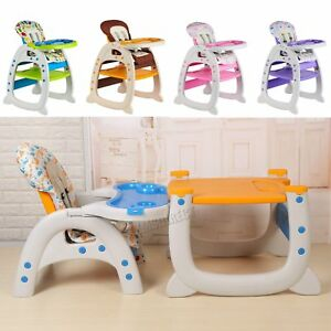 GALACTICA Baby Highchair Infant High Feeding Seat 3in1 Toddler Table Chair New
