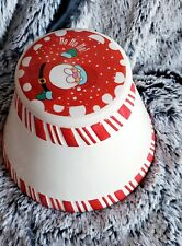 Santa Christmas Candle Topper full size