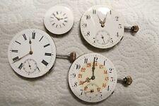 19.Taschenuhr,4 Uhrwerke,alt aus Golduhren,Ersatzteile