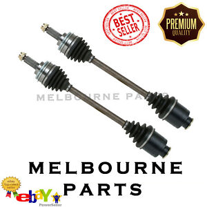 2 x NEW FRONT CV JOINT DRIVE SHAFT TO SUIT SUBARU FORESTER 10/99 -02 ABS 1PAIR
