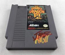 Nintendo (NES) Double Dragon III AVGN James Rolfe Red/Yellow Autograph Cart