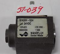 WANDFLUH 24VDC SOLENOID VALVE SIN29V-G24