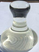 Glass Muller Medium 85Mm O.D. New Pyrex Artist's Paint Grinding Tool