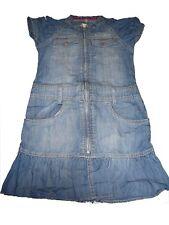 H & M tolles Jeans Kleid Gr. 128 mit Reißverschluss !!
