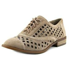 Lace Up Solid Low Heel (3/4 in. to 1 1/2 in.) Flats for Women