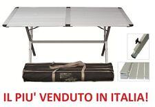 Tavolo da campeggio Genius 150x80x72h in alluminio inclusa borsa per trasporto