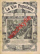 la vie populaire 88 du 14/08/1903 Hennebont Automobile Ostende Huîtres perlières
