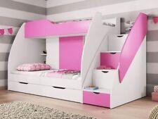 Bett Hochbett Kinderbett Jugendbett Rosa Kinderzimmer Jugendzimmer MARTIN RAJ