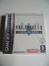 Final Fantasy I & II Dawn Of Souls Gameboy Advance GBA Euro Rare Neuf NEW Sealed