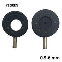 Microscope 05-6 mm Inner Diameter Metal Zoom Iris Diaphragm Aperture Condenser