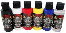 Createx Wicked Colors Primary Kit 5 colori Aerografo 1 Reducer