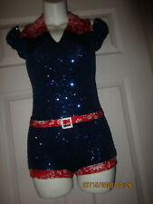 """Competition Pageant /  Skating / Dance Costume Outfit. sz. YL """"Western"""" USA"""