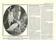 1909 Alhambra Ballet Spectacle Psyche Leading Or Following Public Opinion