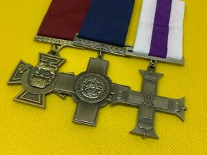 Replica WW1 Medals/Decorations, VC, GC and MC, Brand New Copy/Reproduction