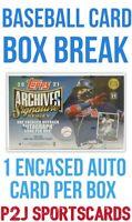Topps 2021 Signature Series Baseball Card Box Break - 1 Random Team Break 4462
