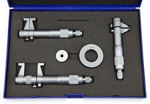 Innenmessschrauben Satz 5 - 75 mm Innenmikrometer Innenmessschraube 2-Punkt Set