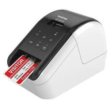 Brother QL-810W Ultra Fast Wireless Label Printer Direct Thermal Monochrome
