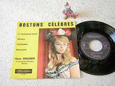 "HANS KRAMER Bostons Célèbres FRANCE 7""EP+PS VISADISC VI 208"