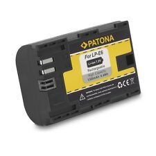 batteria LP-E6 LPE6 Battery PATONA canon 6d 60d 7d 70d mark II 5d mark III HQ