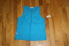 AEROPOSTALE SLEEVELESS TANK WITH LACE CROCHET FLOWERS SIZE MEDIUM NEW WITH TAGS