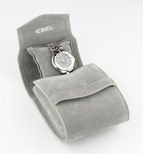 Ebel Men's LD Sport Wave Watch Black Dial Date E9187632 w/ Original Box & Papers