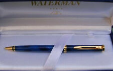 WATERMAN PREFACE BLUE MARBLE  0.5MM PENCIL  NEW IN BOX